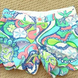 Lilly Pulitzer shorts- size 0